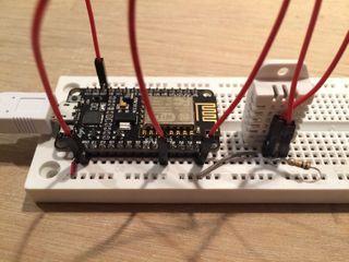 ESP8266 NodeMCU - DHT22 humidity sensor with MQTT and deep