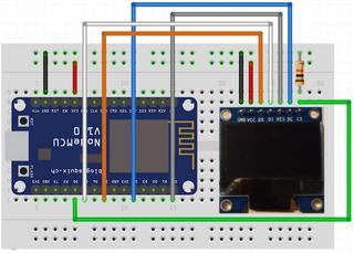 ESP8266 NodeMCU - OLED display using SPI | Odd One Out